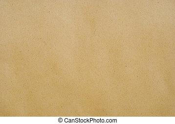 Un fondo de papel marrón