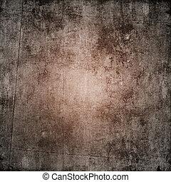 Un fondo de papel marrón oscuro