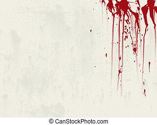 Un fondo de sangre