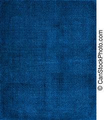 Un fondo de tela azul
