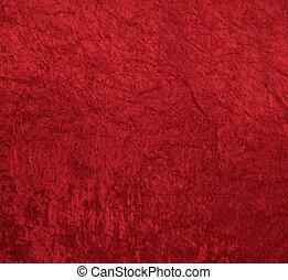Un fondo de terciopelo rojo
