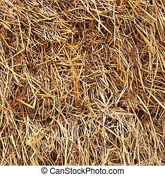 Un fondo de textura de paja dorada