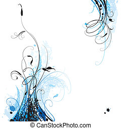 Un fondo floral