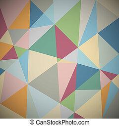 Un fondo geométrico