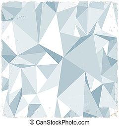 Un fondo geométrico ligero