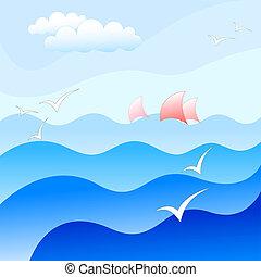 Un fondo marino