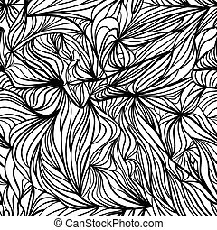 Un fondo negro y blanco sin costura