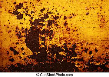 Un fondo oxidado
