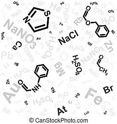 Un fondo químico