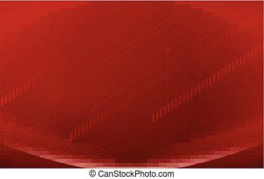 Un fondo rojo
