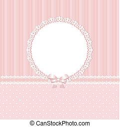 Un fondo rosa