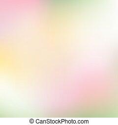 Un fondo suave y colorido