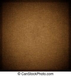 Un fondo textil marrón oscuro