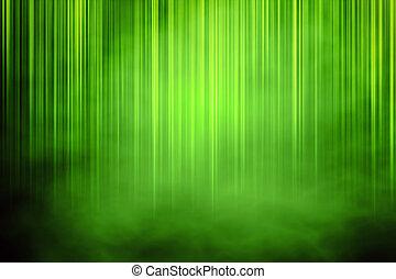 Un fondo verde