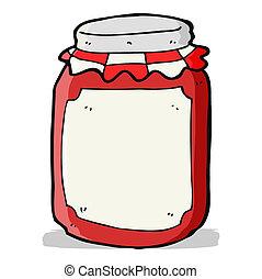 Un frasco de conserva