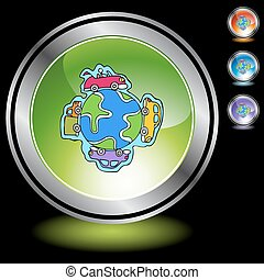 Un globo automovilístico