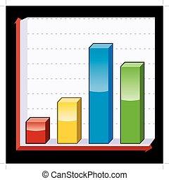 Un gráfico de negocios