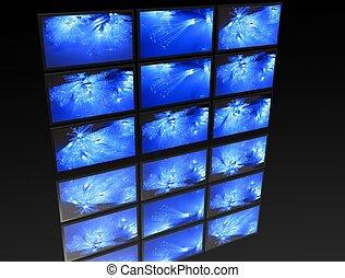 ¿Un gran panel de TV