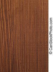 Un grano de madera marrón