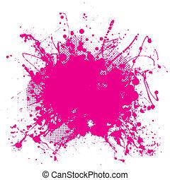 Un grunge rosa