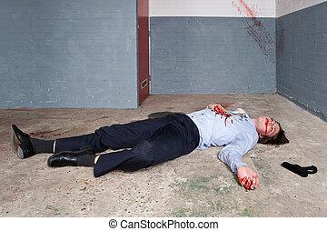 Un hombre de negocios asesinado