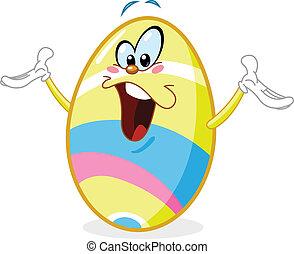 Un huevo alegre del este