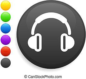 Un icono auricular en el botón de Internet
