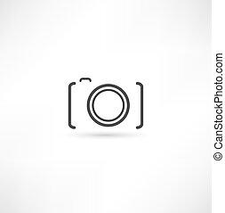 Un icono de cámara
