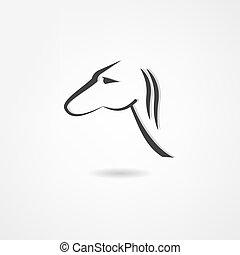 Un icono de caballo