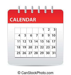 Un icono de calendario