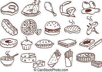 Un icono de comida