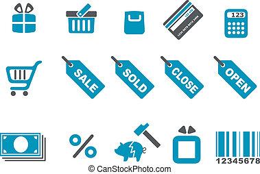 Un icono de compras