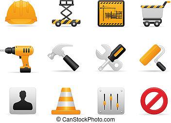 Un icono de construcción