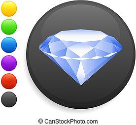 Un icono de diamantes en Internet