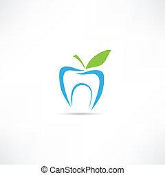 Un icono de dientes