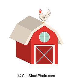 Un icono de granja