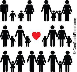 Un icono de la vida familiar en negro