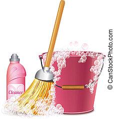 Un icono de limpieza