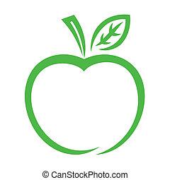 Un icono de manzana
