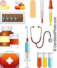 Un icono de medicina