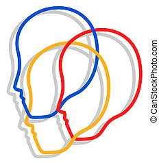 Un icono de tres caras