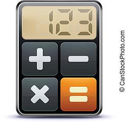 Un icono del calculador