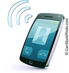 Un icono del celular