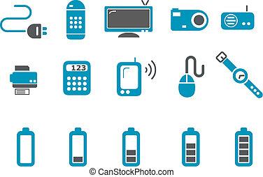 Un icono electrónico