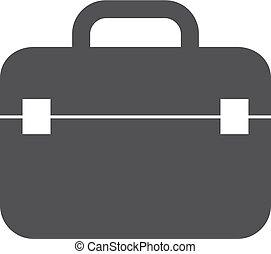 Un icono en negro en un fondo blanco. Ilustración de vectores
