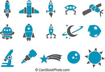 Un icono espacial listo