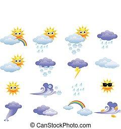 Un icono meteorológico