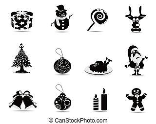 Un icono negro de Navidad