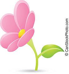 Un icono rosa