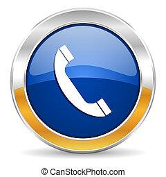 Un icono telefónico